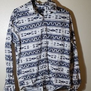 21Men American Brand LS Button Up Medium